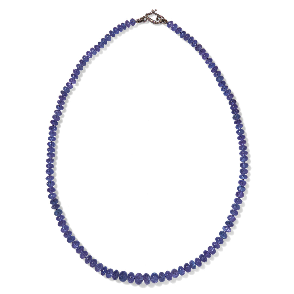 Strand Necklace with Tanzanite
