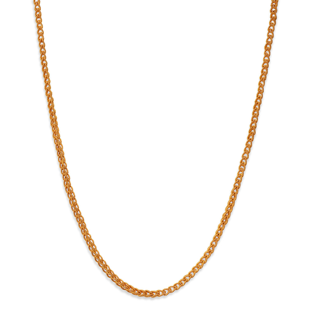 Penelope Chain Necklace in 22K Apricot Gold