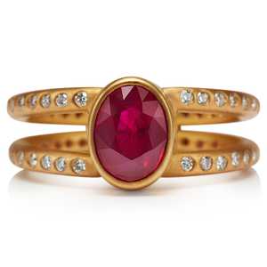Lightdance Ruby Ring