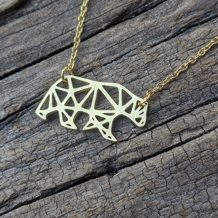Geometrical Animal Pendants Are Here :)