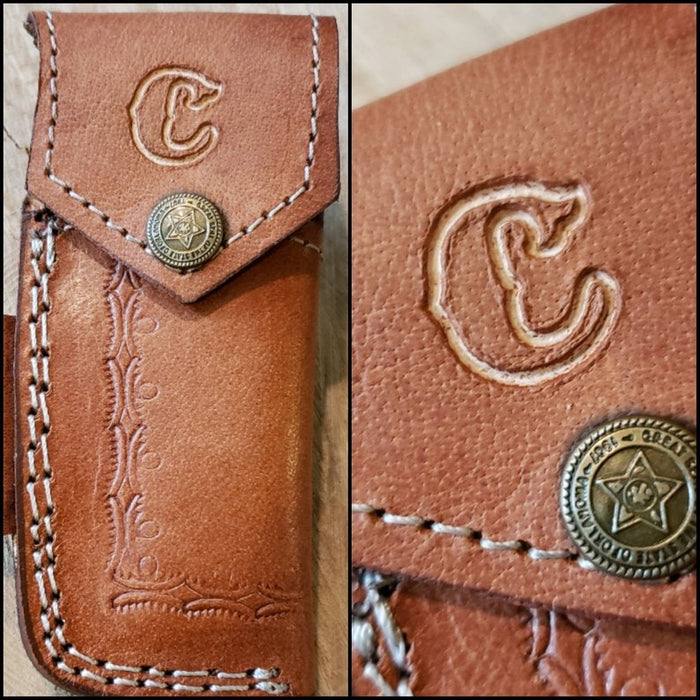 Custom Initials For Leather Sheaths Available!