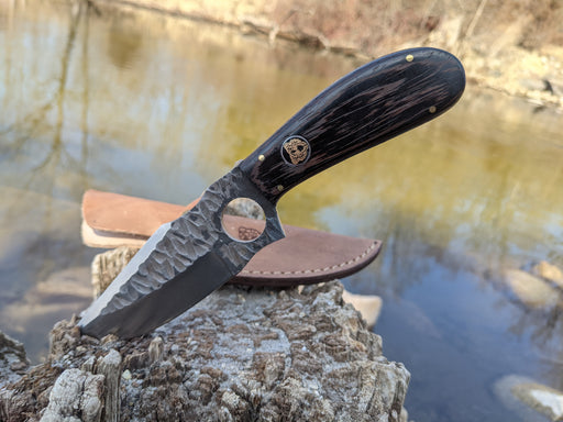 Personalized Hunting Knife | Wenge Wood Handle | NR05-2 - North Rustic