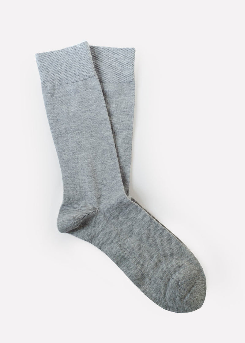 Organic Cotton with Recycled Fibres - Lt. Grey (Men's) thumbnail