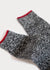 Wool Blend Weekender Rib Boot Socks - Black thumbnail image