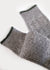 Wool Blend Weekender Rib Boot Socks - Grey thumbnail image