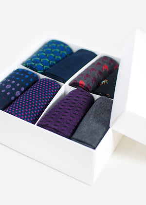 Men's Seasonal Box - 8 Pairs thumbnail