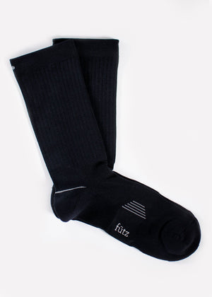 2Pk Men's Crew Sport - Black thumbnail
