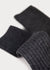Wool Blend Dressy Boot Socks - Charcoal (Women's) thumbnail image
