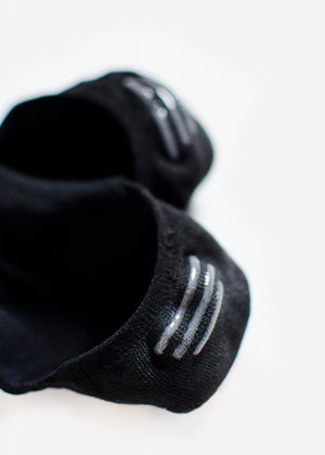 Cotton Footie - Black thumbnail