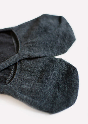 Cotton Footie - Med. Grey thumbnail