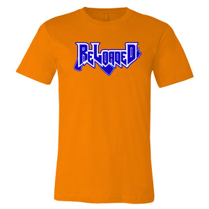 Reloaded Logo Tee - Orange