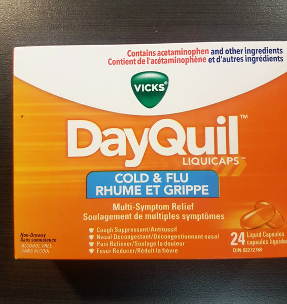 VICKS DAYQUIL COLD & FLU 24S