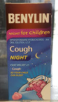 BENYLIN COUGH NIGHT FOR CHILD 100ML