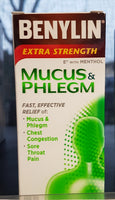 BENYLIN MUCOUS PHLEGM RELIEF 100ML