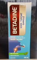 BETADINE SORE THROAT GARGLE