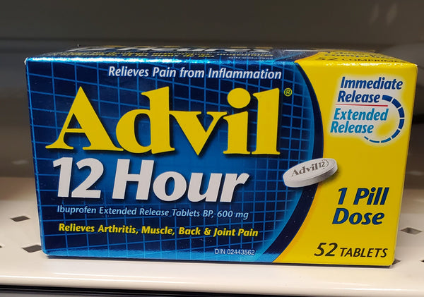 ADVIL 12 HOUR RELIEF
