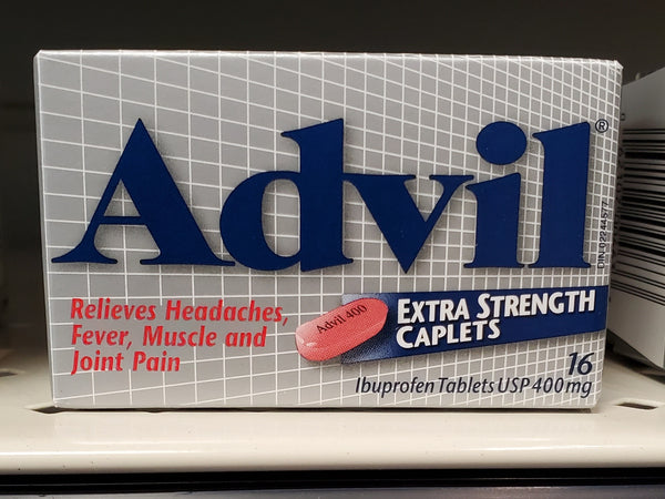 ADVIL EXTRA STRENGTH CAPSULES 400MG