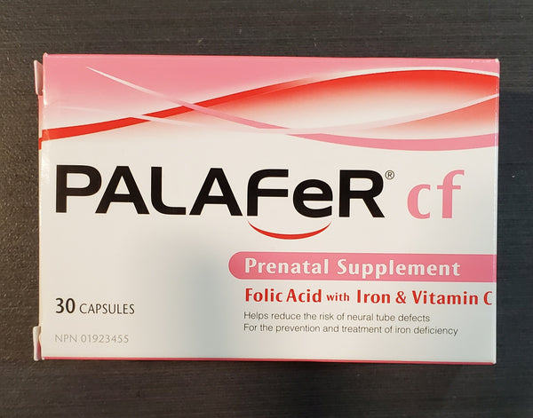 PALAFER CF 30 CAPS