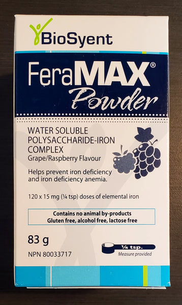 FERAMAX POWDER 15MG 83G