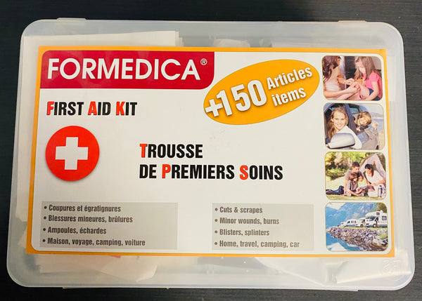 FORMEDICA FIRST AID KIT 150+ ITEMS