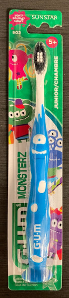 GUM TOOTHBRUSH KIDS 5+ MONSTERZ