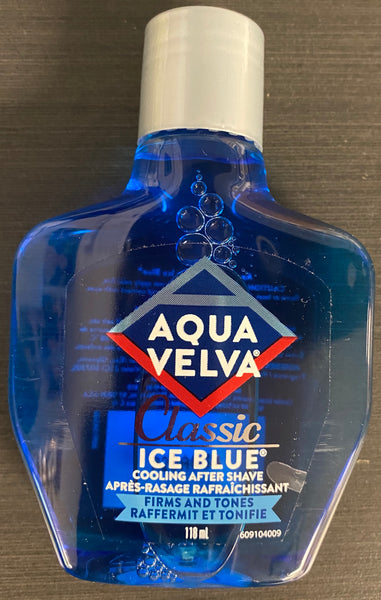 AQUA VELVA AFTER SHAVE ICE BLUE 118 ML