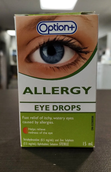 OPTION+ EYE DROPS ALLERGY