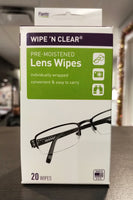 FLENTS LENS CLEANING TISSUES WIPE N CLEAR EXTRA LARGE