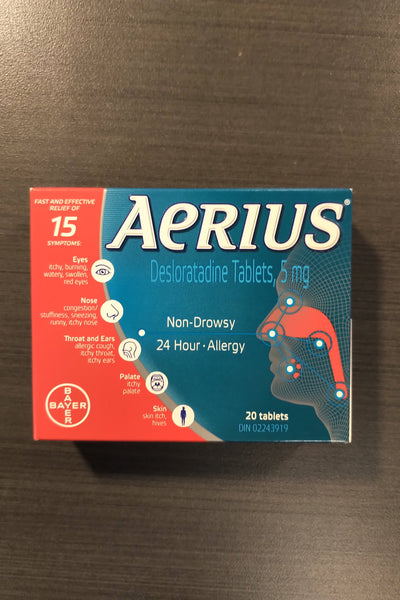 AERIUS TABS 5MG 20S