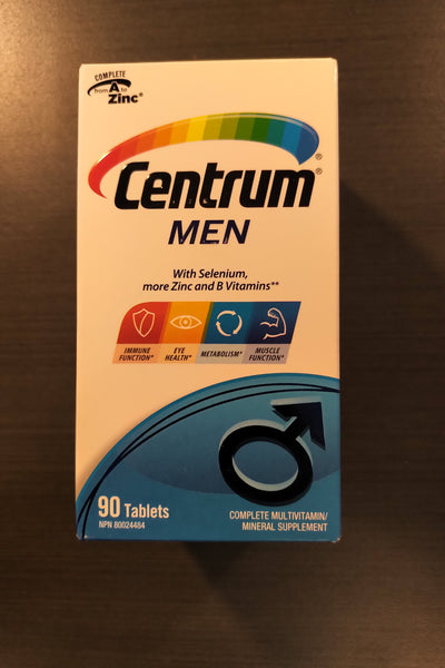 CENTRUM FOR MEN 90S