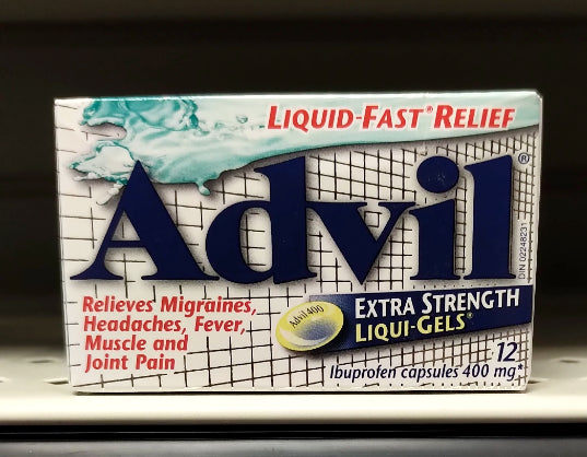 ADVIL LIQUI-GELS X-STR 12S