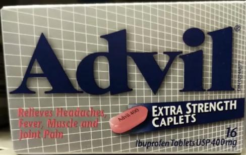 ADVIL EXTRA STRENTH 400MG 16'S