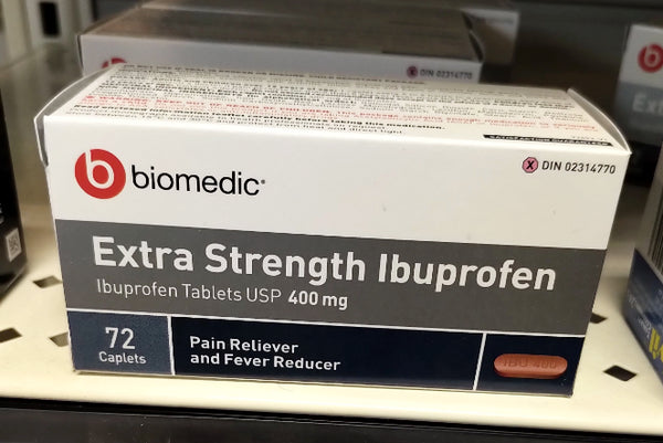 BIOMEDIC EXTRA STRENGTH IBUPROFEN