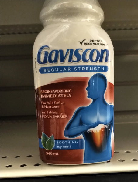 GAVISCON LIQUID ICY MINT 340ML