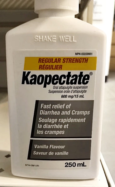 KAOPECTATE REG VAN 600MG15ML 250ML