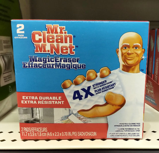 MR CLEAN MAGIC ERASER 2 PADS
