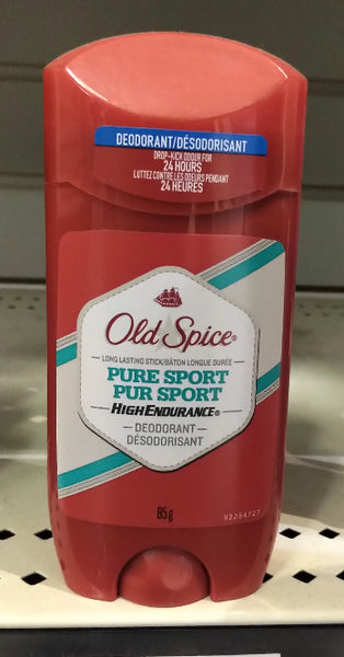 OLD SPICE HE DEOD PURE SPORT 85G