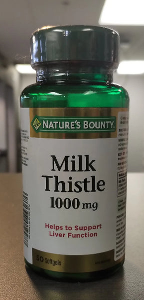 NATURES BOUNTY MILK THISTLE 50S