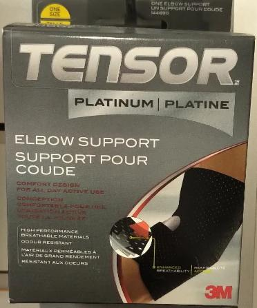3M TENSOR PLATINUM ADJUSTEABLE ELBOW SUPPORT 1S