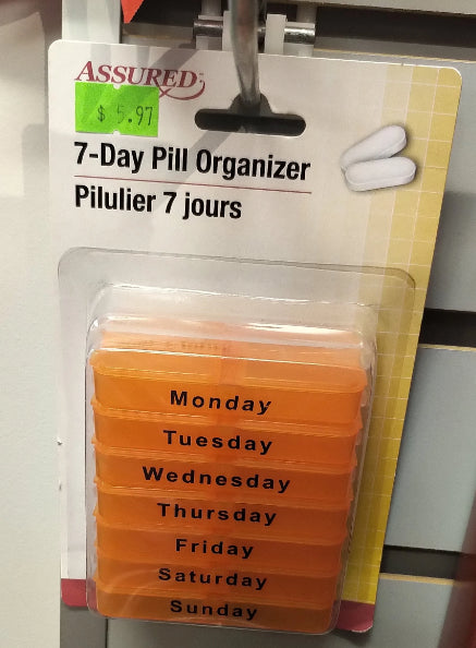 7 DAY PILL REMINDER