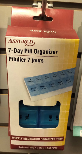 ASSURED 7-DAY PILL ORGANIZER