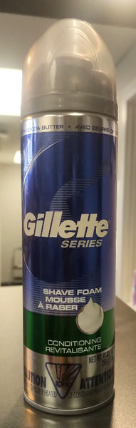 GILLETTE SERIES SHAVING FOAM