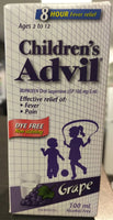 ADVIL CHILDREN LIQUID DYE FREE 100ML