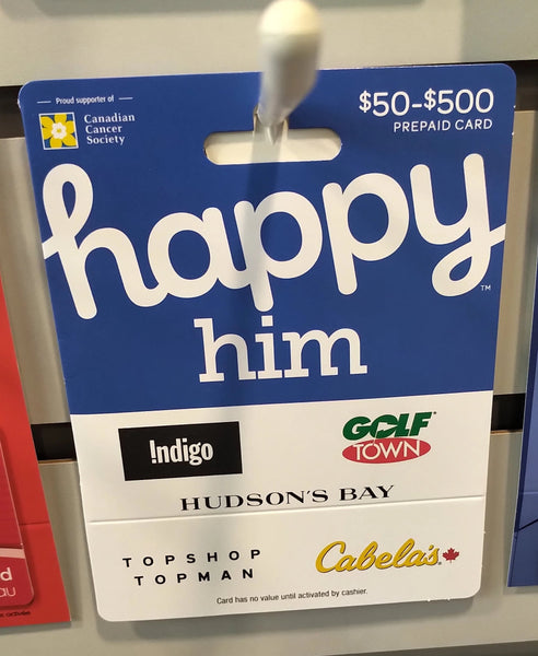 GIFT CARD HAPPY HIM
