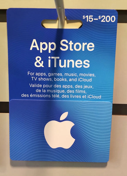 GIFT CARD APPSTORE & ITUNES