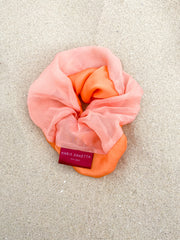 Peonie | Two-Tone Scrunchie