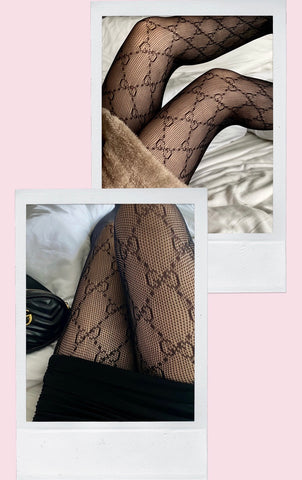 GG Black Tights