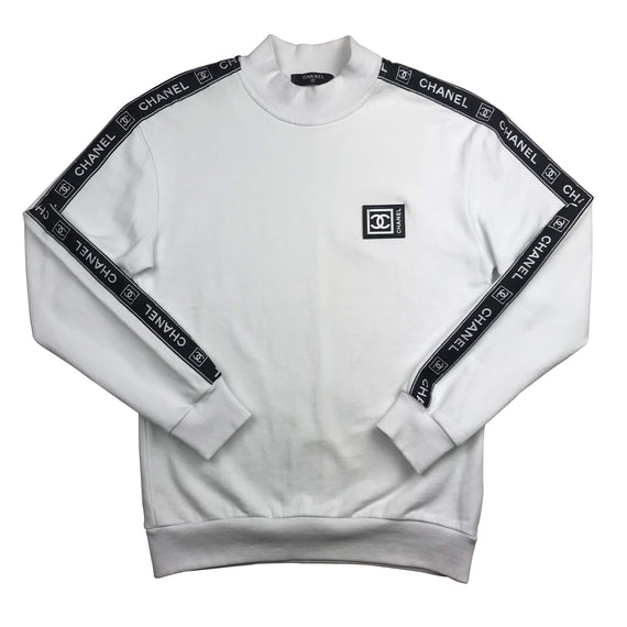 Bootleg Chanel Logotape Sweater Small