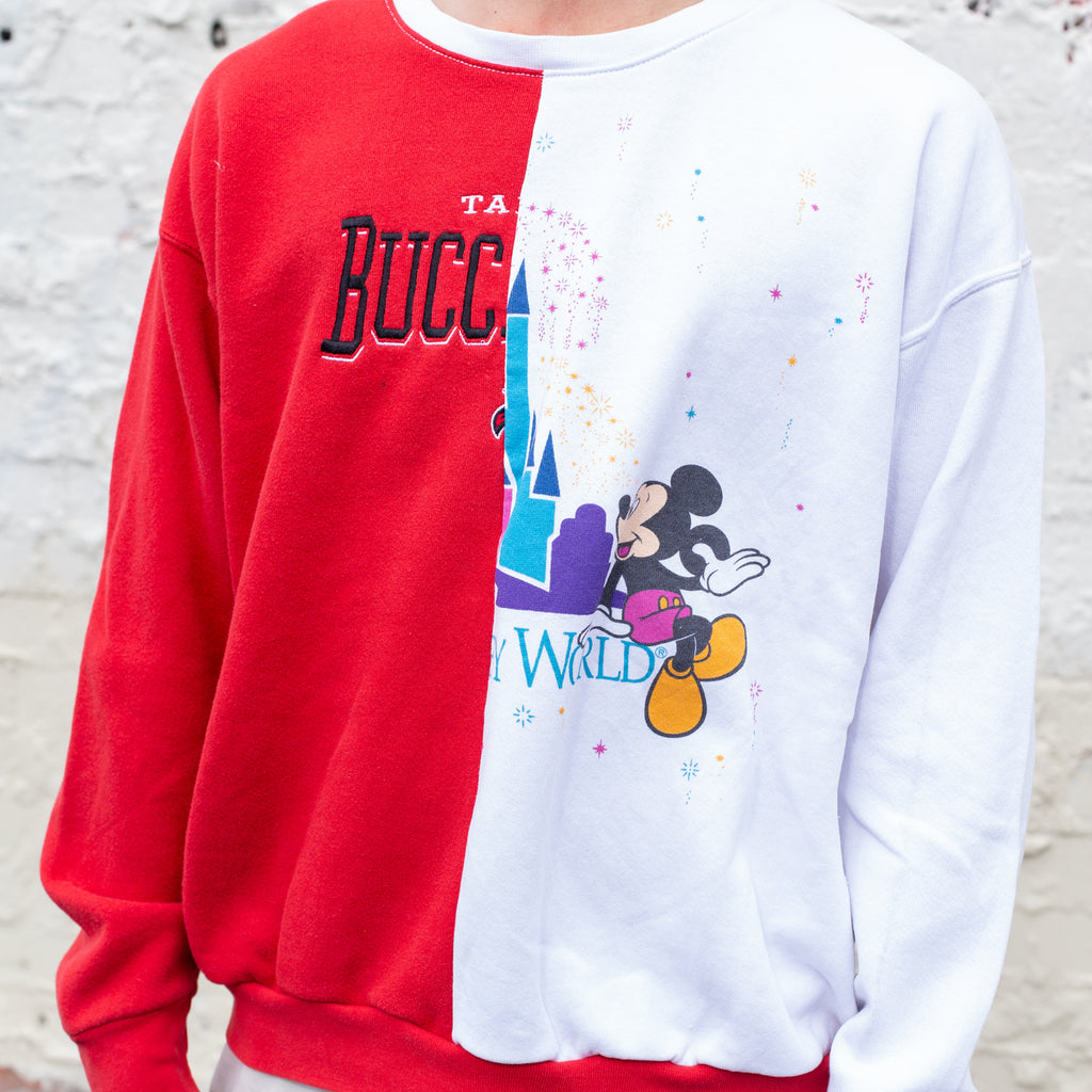 REWORKED Vintage Buccaneers/Disney Sweatshirt L