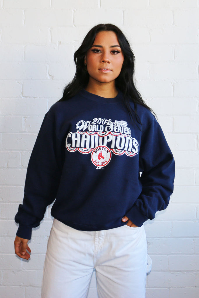 Vintage Boston Red Sox World Series Champions Sweatshirt S